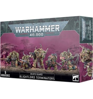 Death Guard Blightlord Terminators Warhammer 40K