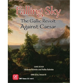 Falling Sky Brettspill The Gallic Revolt Against Caesar
