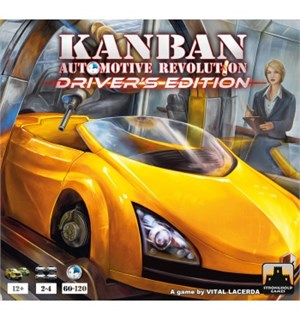 Kanban Automotive Revolution Brettspill Driver's Edition