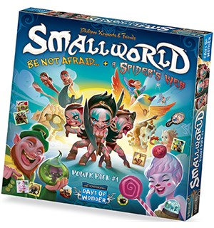 Small World Power Pack 1 Spiders Web Be Not Afraid +  Spiders Web Expansion