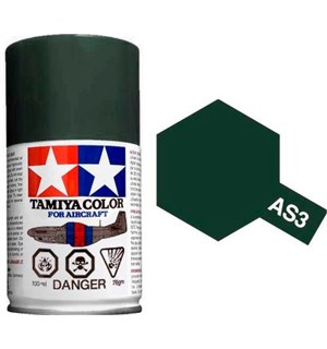 Tamiya Airspray AS-3 Gray Green Tamiya 86503 - 100ml
