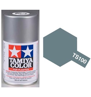 Tamiya Airspray TS-100 Semi Gloss Bright Tamiya 85100 - 100ml Gun Metal