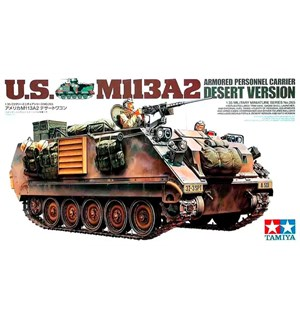 US M113A2 Armored Personnel Carrier Tamiya 1:35 Byggesett