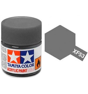 Akrylmaling MINI XF-53 Neutral Grey Tamiya 81753 - 10ml