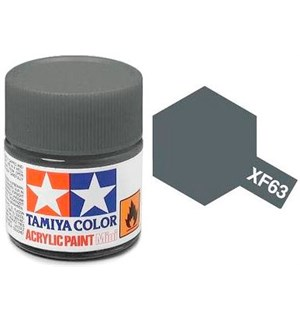 Akrylmaling MINI XF-63 German Grey Tamiya 81763 - 10ml