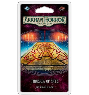 Arkham Horror TCG Threads of Fate Exp Utvidelse til Arkham Horror Card Game