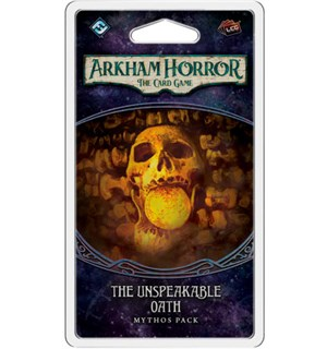 Arkham Horror TCG Unspeakable Oath Exp Utvidelse til Arkham Horror Card Game