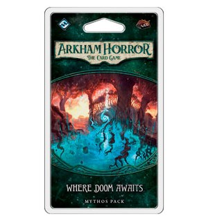 Arkham Horror TCG Where Doom Awaits Exp Utvidelse til Arkham Horror Card Game