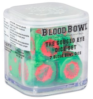 Blood Bowl The Gouged Eye Dice Set Warhammer Blood Bowl