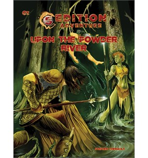 D&D Adventure C3 Upon the Powder River Dungeons & Dragons Scenario Level 4-7