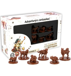 D&D Animal Adventures Vol 2 Dungeons & Doggies