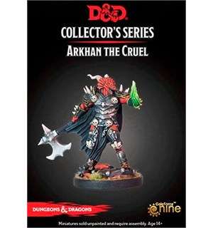 D&D Figur Coll. Series Arkhan the Cruel Dungeons & Dragons Collectors Series