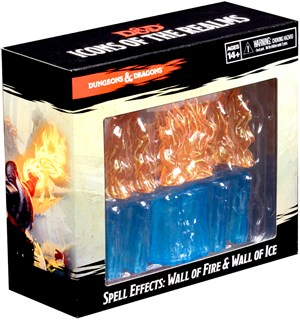 D&D Figur Icons Spell Wall of Fire/Ice Dungeons & Dragons Spell Effects