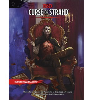 D&D Adventure Curse of Strahd Dungeons & Dragons Scenario Level 1-10