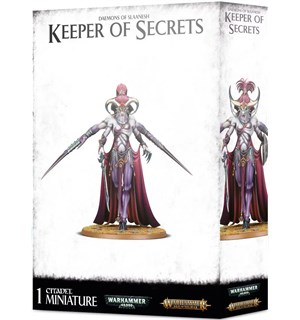Daemons of Slaanesh Keeper of Secrets Warhammer 40K / Age of Sigmar