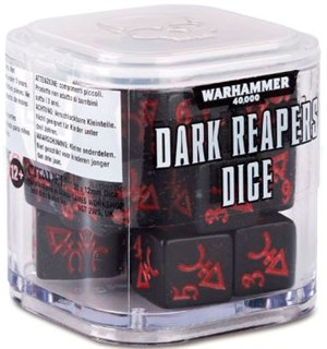 Dark Reapers Dice - 20 stk Warhammer 40K