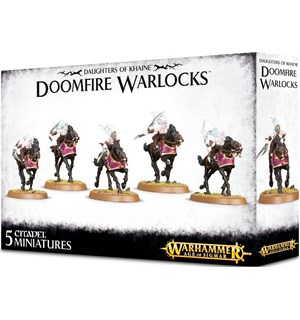 Daughters of Khaine Doomfire Warlocks Warhammer Age of Sigmar