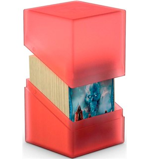 DeckBox Boulder 120 kort Ruby Samleboks Ultimate Guard 10 x 8 x 7,5 cm