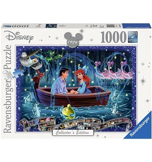 Disney Ariel Little Mermaid 1000 biter Ravensburger Puzzle Puslespill