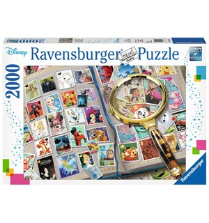 Disney Stamps 2000 biter Puslespill Ravensburger Puzzle