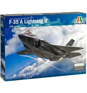 F-35 A Lighting II CTOL Version Italeri 1:72 Byggesett