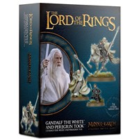 Gandalf the White & Peregrin Took Lord of the Rings Strategy Battle Game