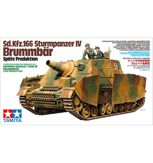 German Assault Tank IV Brummbar Tamiya 1:35 Byggesett