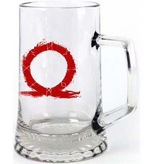 God of War Glass Logo - 0,45 liter