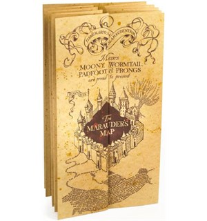 Harry Potter Marauder Map Replica