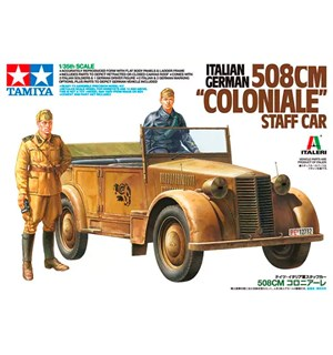 Italian German 508cm Coloniale Staff Car Tamiya 1:35 Byggesett