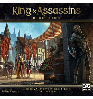 King and Assassins Deluxe Brettspill Deluxe Edition
