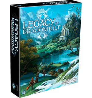 Legacy of Dragonholt Brettspill Adventure Game