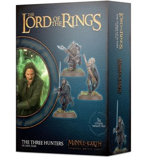 Lord of the Rings The Three Hunters Middle-Earth Strategy Battle Game