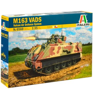 M163 VADS Vulcan Air Defense System Italeri 1:35 Byggesett