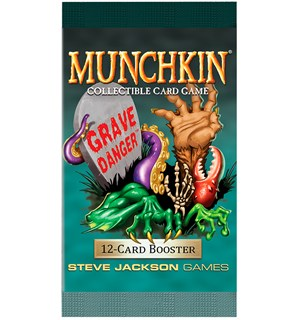 Munchkin Grave Danger Booster Collectible Card Game
