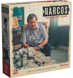Narcos The Board Game Brettspill