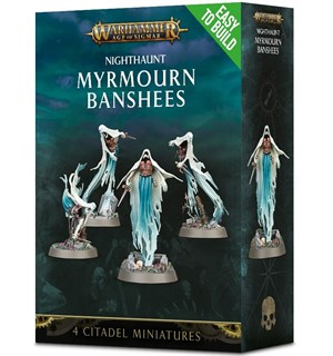 Nighthaunt Myrmourn Banshees ETB Age of Sigmar - Easy to Build