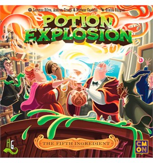 Potion Explosion Fifth Ingredient Exp Utvidelse til Potion Explosion