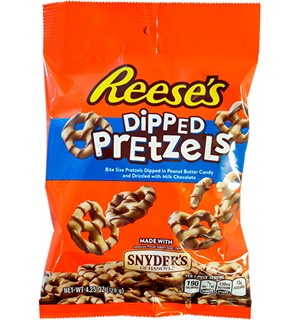 Reeses Dipped Pretzels Peanut Butter 120g