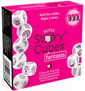 Rorys Story Cubes Fantasia Medieval, Mythic, Enhanced