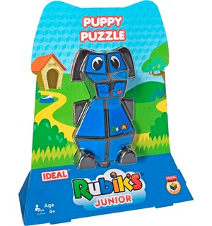 Rubiks Junior Puppy Puzzle Juniorversjon - Fra 4 år
