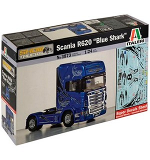 Scania R620 Blue Shark Italeri 1:24 Byggesett