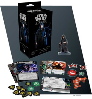 Star Wars Legion Emperor Palpatine Exp Utvidelse til Star Wars Legion