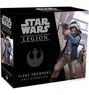 Star Wars Legion Fleet Troopers Exp Utvidelse til Star Wars Legion