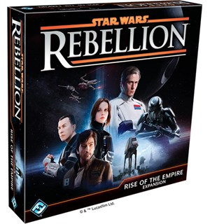 Star Wars Rebellion Rise of the Empire Utvidelse til Star Wars Rebellion
