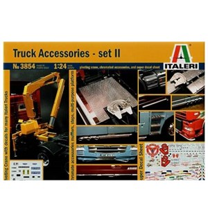Truck Accessories II Italeri 1:24 Byggesett
