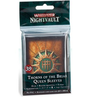 Underworlds Sleeves Thorns Briar Queen Warhammer Underworlds Nightvault