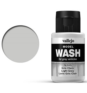 Vallejo Model Wash - Light Grey 35ml