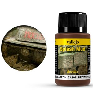 Vallejo Mud Splash Mud Brown - 40ml