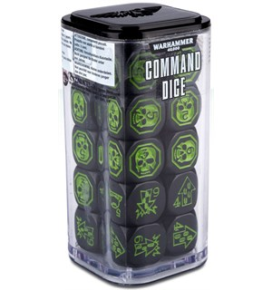 Warhammer 40K Command Dice